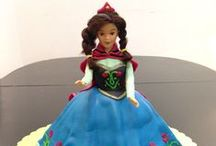 Princess Anna of Frozen / Anything about Princess Anna of Frozen Movie may it be cakes, cupcakes and Party Ideas