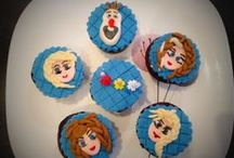 Frozen Cupcakes / Cupcakes that reveals the spirit of Frozen
