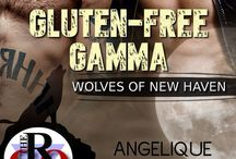 Gluten-free Gamma (Wolves of New Haven, #3) / Inspiration board for book three of my Wolves of New Haven series. (M/M paranormal romance) (Evernight Publishing)