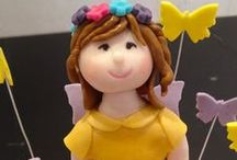 Cake Toppers / Edible Creations to accentuate the cake