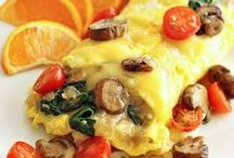 Omelette's and Quiche / And some other egg dishes.