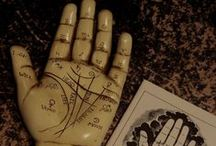 Divination: Palmistry / #Palmistry and Palm Reading