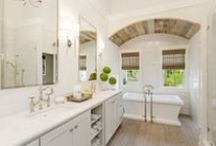 Unbelievable Baths / Collection of baths– from powder rooms to spa-like master bathrooms– by Perkinson Homes.