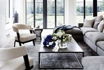 Inspiration : Interiors / A variety of interior spaces: modern, contemporary, transitional, and boutique.