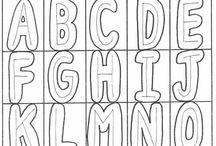 Bokstaver og skriftforming