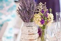 Δεξίωση / My lavender themed wedding