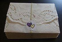 Προσκλήσεις / My lavender themed wedding