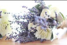 Ανθοδέσμη / My lavender themed wedding