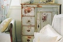 Vintage Furniture / One piece of exceptional furniture can make a room.