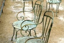 Garden Vintage / Never forget the garden when decorating.
