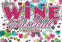 Wine & Chocolate / Tempting recipes and smart pairing advice on all things wine & chocolate. Want more? Be sure to attend the 19th annual Lodi Wine & Chocolate Weekend, February 13 & 14, 2016!  / by Lodi Wine
