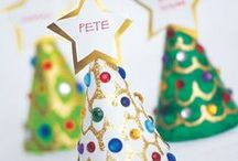 Christmas Crafts for Kids / Christmas crafts you can do with the kids at home or in your classroom.