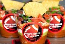Game Day / Yummy recipes and fun party ideas for Super Bowl Sunday or any game day, for that matter.