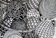 Zentangle-Inspired Patterns / Patterns which could be used in Zentangle drawings