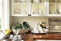 Rooms I Love - Kitchens! / The heart of every house.  What does your dream kitchen look like?