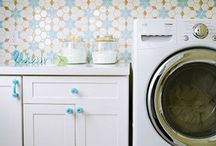 Rooms I Love - Laundry Rooms! / Since you have to spend time there, it might as well make you smile.