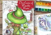 Colouring for Adults / Resources for adult colourists