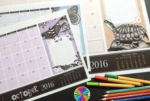 2016 Calendars / Calendars , planners and journals