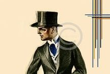 Pánske obleky / Modelovanie