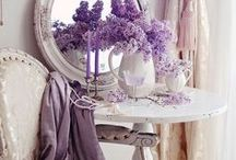 Purple Passion Decor / I have a true love for purple decor.  Let me convince you to add touches of purple to your room.