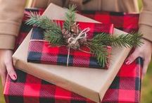 Wrap It Up / Find a creative way to wrap up your presents.  Whether it's Christmas, birthday, new baby or graduate.