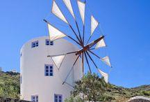 @windmillvillas / Traditional windmills in Santorini