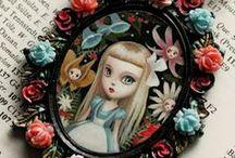 ...through the Wonderlens / All things Alice in Wonderland / by H. Stone