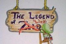 """Calgon, take me away!"" / The Legend of Zelda Saga / by H. Stone"