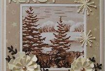 kaarten voorgaande jaren / kaarten voor de kerst