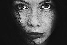 rostros / rostros que me inspiran para hacer mis obras