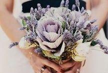 Colors - Purple Flowers / Beautiful purple wedding flower inspiration for brides
