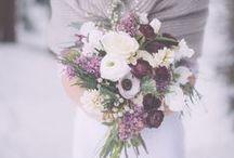Seasons - Winter Wedding Flowers / Beautiful winter wedding flower inspiration for brides