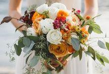 Seasons - Fall Wedding Flowers / Beautiful fall wedding flower inspiration for brides