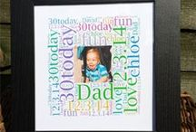 Birthday Gifts for Kids / Our birthday gift ideas for kids allow you to get them something they will remember and keep forever. Be original and get them a gift that will remind them everyday how much you love them. This is the perfect place to look for a sentimental bespoke birthday gift from a range of beautiful frames with your choice of text and colour to bold and bright plaques that shout out your age….