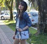 Ela Inspira Denim Outfits / Looks em jeans do blog Ela Inspira!