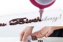 Chocolates decorations