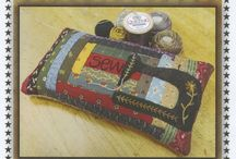 Pin Cushion Kits & Patterns /  Everybody needs a pin cushion, or ten! Start a collection!! WE DID!