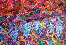 Kaffe Fasset, Brandon Mably, Phillip Jacobs / Do you love color, abstract design, and thinking outside the box? Then these designers have what you are looking for...take a look at their great quilt fabric designs. This is just a small sample of what we have in stock.