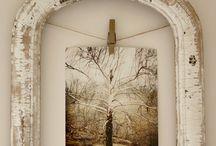 Creative display ideas for photos and art...