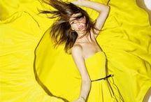 ❤ Yellow ❤ Yellow ❤ Yellow ❤ / Inspiration, fashion & fun...in yellow! ;)