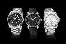 Timely / Sophisticated timepieces.
