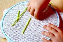 Yarn and threads / Lanas y hilos