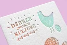 Letterpress by  KOLORY / Our Letterpress designd & prints