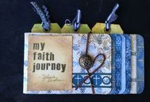 Mixed Media Art / Mixed media projects for journaling, scrapbooking, and art