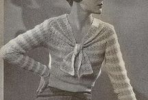 Vintage knits / Mainly knits but also some amazing vintage clothes