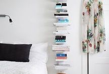 Book Love / Lovely ideas to create the perfect reading room