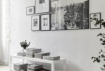 Gallery Walls / Great ideas for gallery walls