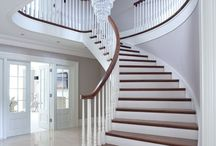 Stairway to Heaven / Stairs are so under rated and neglected parts of the home but they can look soooo amazing!