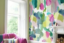 Wallpaper and Accent walls / Inspiration for when I have the time to decorate my house