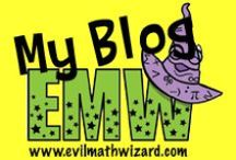 EvilMathWizard.com / Pictures of my blog posts. I love to make math fun and engaging for my students.